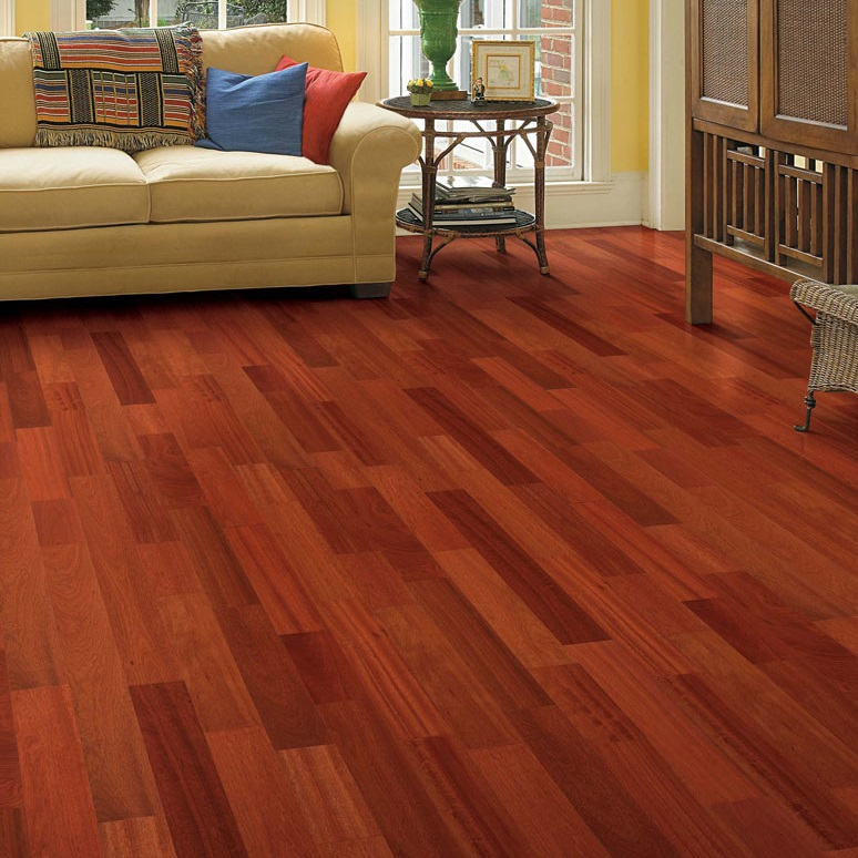 Brazilian Cherry Solid Unfinished Wood Floor