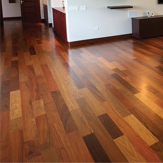 Brazilian Walnut Solid Unfinished Wood Floor