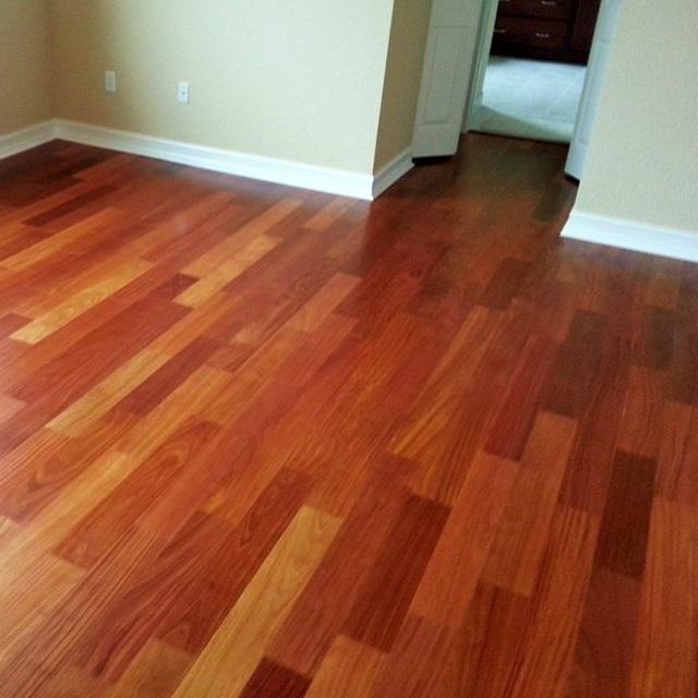 Santos Mahogany Unfinished Engineered Wood Floors