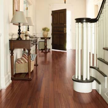 Sapele Unfinished Engineered Wood Floor
